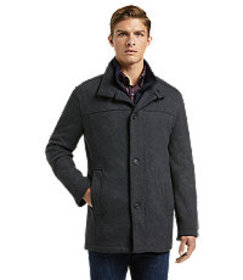 Jos Bank 1905 Collection Tailored Fit Car Coat - B