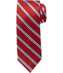 Jos Bank Traveler Collection Striped Tie - Long CL