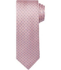 Jos Bank Traveler Collection Pinpoint Tie - Long C