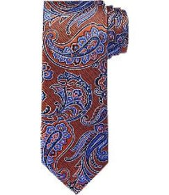 Jos Bank Reserve Collection Paisley Floral Tie - L