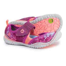 Jambu Roza Mary Jane Shoes (For Girls) in Berry -