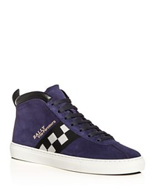 Bally - Men's Vita Parcours Suede Mid-Top Sneakers