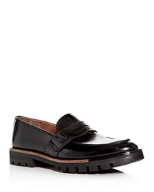 Bally - Men's Barox Leather Apron-Toe Penny Loafer