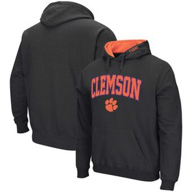 Clemson Tigers Colosseum Arch & Logo Pullover Hood