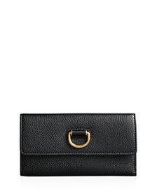 Burberry - D-Ring Leather Continental Wallet