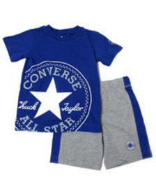 Converse oversized chuck patch short sets (4-7)