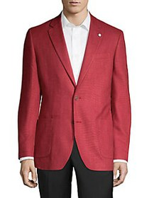 Nautica Classic Notch Lapel Sportcoat RED