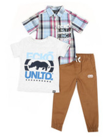Ecko 3pc knit set (4-7)
