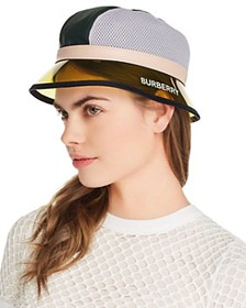 Burberry - PVC-Brim Bucket Hat