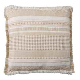 EnVogue Ester Stripe Natural Throw Pillow - 22x22""