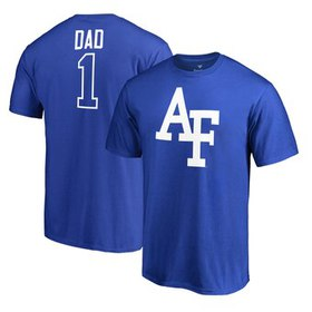 Air Force Falcons Fanatics Branded Number 1 Dad T-
