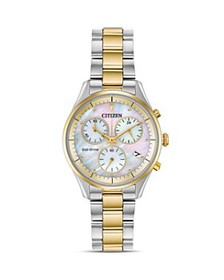Citizen - Chandler Mother-of-Pearl Dial Eco-Drive