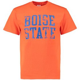 Boise State Broncos Straight Out T-Shirt - Orange