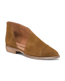 FREE PEOPLE Made In Spain Royale Suede Flats
