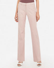 Express low rise barely boot twill editor pant