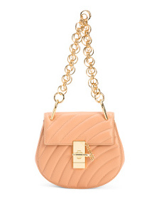 reveal designer Made In Italy Leather Quilted Mini