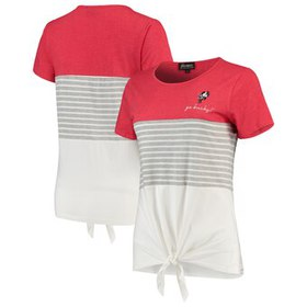 Ohio State Buckeyes Why Knot Colorblocked Striped