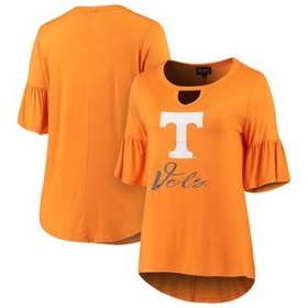 Tennessee Volunteers Women's Ruffle And Ready Keyh