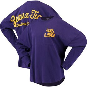 LSU Tigers Pressbox Women's Rally Cry Sweeper Long