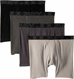 Jockey Active Blend Midway Brief 4-Pack