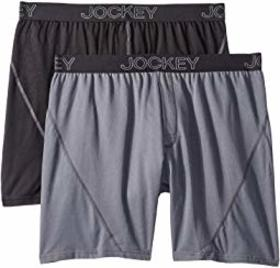 Jockey No Bunch Boxer 2-Pack