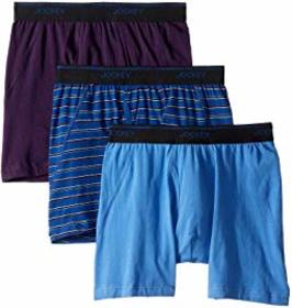 Jockey Essential Fit Max Stretch Boxer Brief 3-Pac