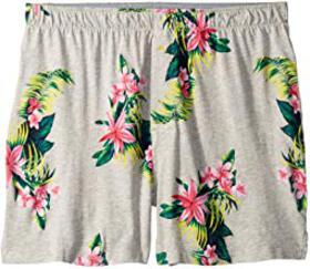 Tommy Bahama Large Floral Knit Boxer