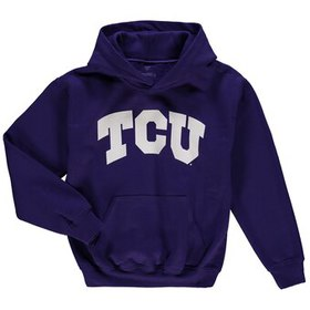 TCU Horned Frogs Youth Basic Arch Pullover Hoodie