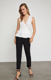 BCBG Warren Cuffed Trouser