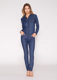 Lexi Denim Jumpsuit