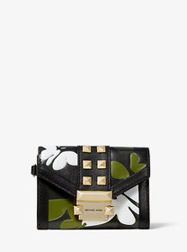 Michael Kors Whitney Small Butterfly Camo Leather