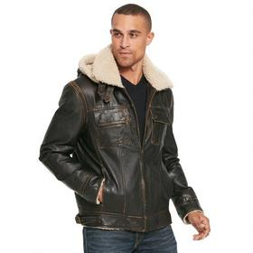 Wilsons Leather Classic Leather Bomber B3 w/ Faux