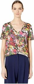 Paul Smith Printed Floral T-Shirt