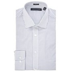 Mens Slim Fit Long Sleeve Checkered Dress Shirt