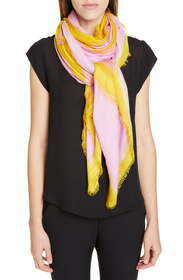 Loewe Anagram Print Modal & Cashmere Scarf
