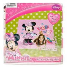DISNEY Minnie Mouse Puzzle Play Mat