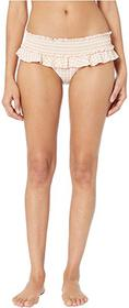 Tory Burch Swimwear Gingham Skirted Bikini Bottoms