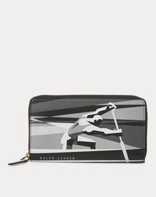 Ralph Lauren Art Deco Zip Wallet