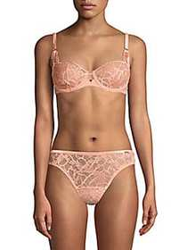 Chantelle Segur Lace Unlined Demi Bra OPAL