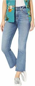 7 For All Mankind High-Waisted Slim Kick in Canyon