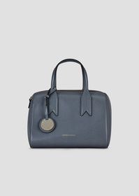Armani Bauletto bag with logo charm