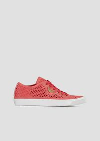 Armani Sneakers in woven perforated canvas