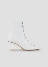 Armani Ankle boots in nappa leather with strap and