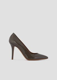 Armani Patent leather pumps with stiletto heel