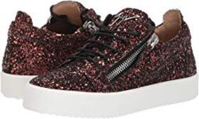 Giuseppe Zanotti Gail Low Top Sneaker with Zipper