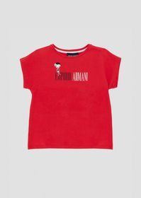 Armani Jersey T-shirt with print on the front