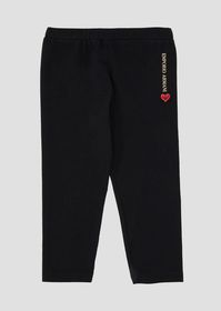 Armani Stretch cotton jersey leggings with logo an