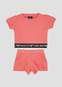 Armani Outfit in jersey with T-shirt and shorts wi