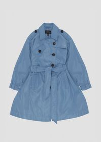 Armani Trench coat in waterproof fabric with belt