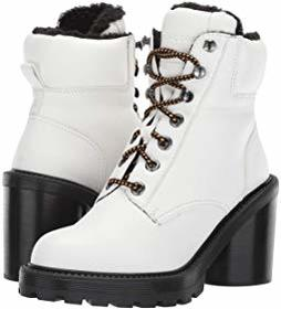 Marc Jacobs Crosby Hiking Boot with Faux Shearling